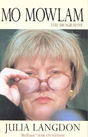 Front cover of Mo Mowlam by Julia Langdon