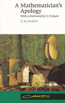 Front cover of A Mathematician's Apology by G.H. Hardy