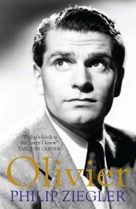 Front cover of Olivier by Philip Ziegler