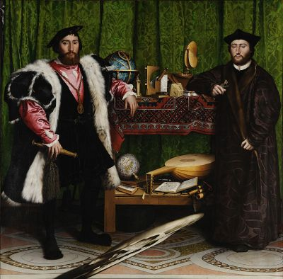 The Ambassadors (1533) Hans Holbein the Younge