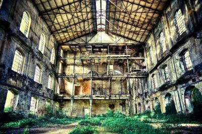An abandoned factory